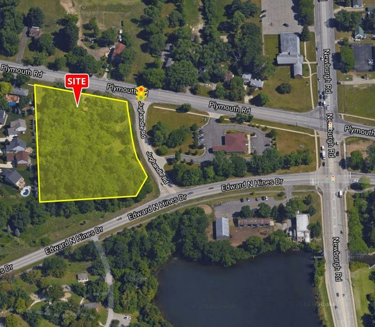 3.47 Acres Plymouth Road