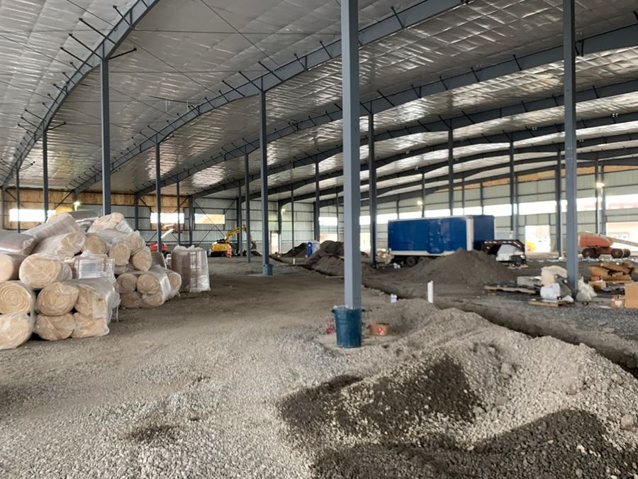 New Construction 100,000 SF | 40' Ceiling Height