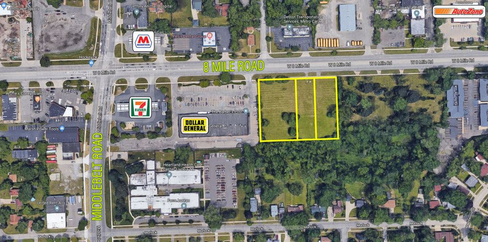 2.06 Acres Eight Mile Road