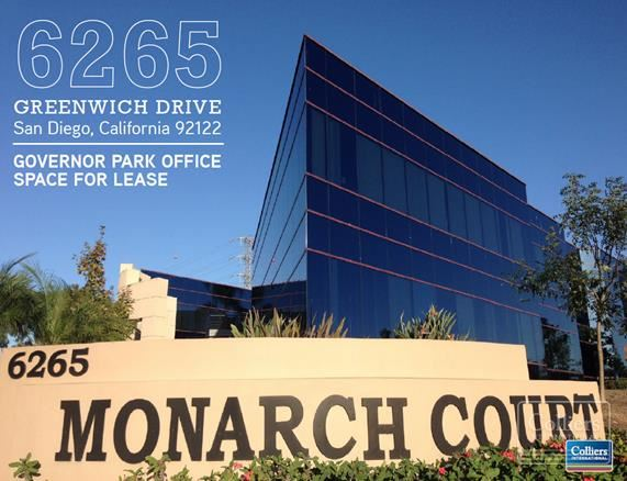 6265 Greenwich Drive  Governor Park Office Space For Lease