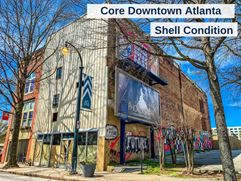 Core Downtown Atlanta Building | Shell Condition | 3,000-9,000 SF - Atlanta