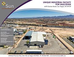 Unique Industrial Opportunity - Las Vegas