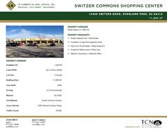 Switzer Commons Shopping Center, Space F - Overland Park