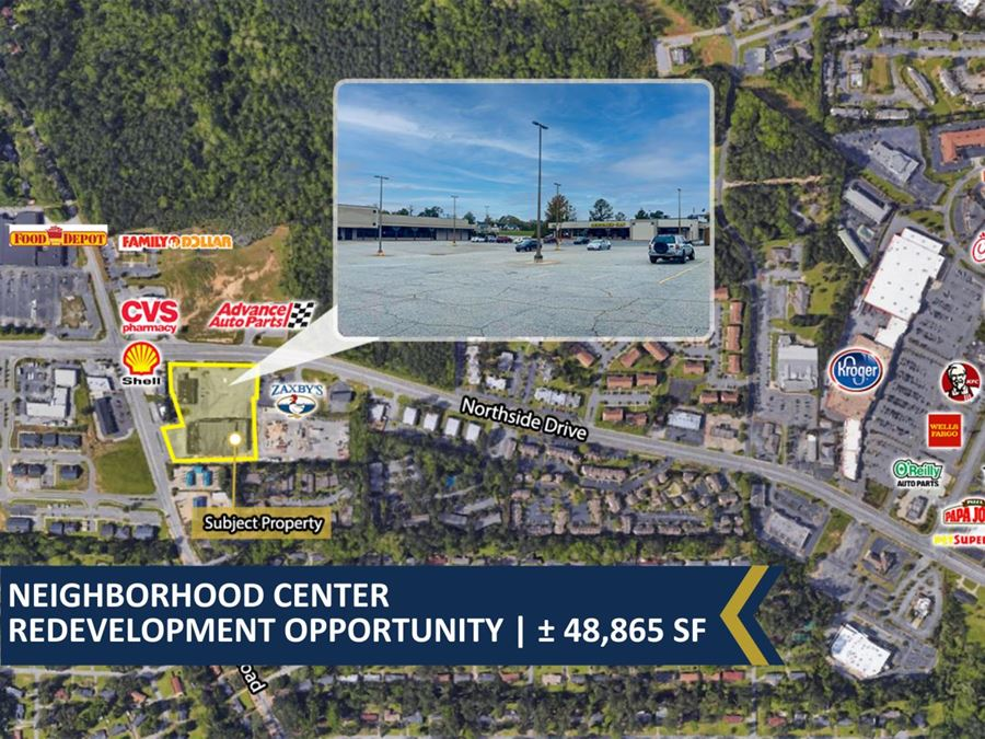 Neighborhood Center Redevelopment Opportunity | ± 48,865 SF