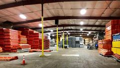 Free standing industrial building with security fencing & outdoor storage - Indianapolis