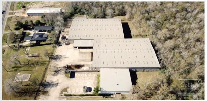 For Sale or Lease | ±65,324 SF Industrial Warehouse in Beaumont, Texas