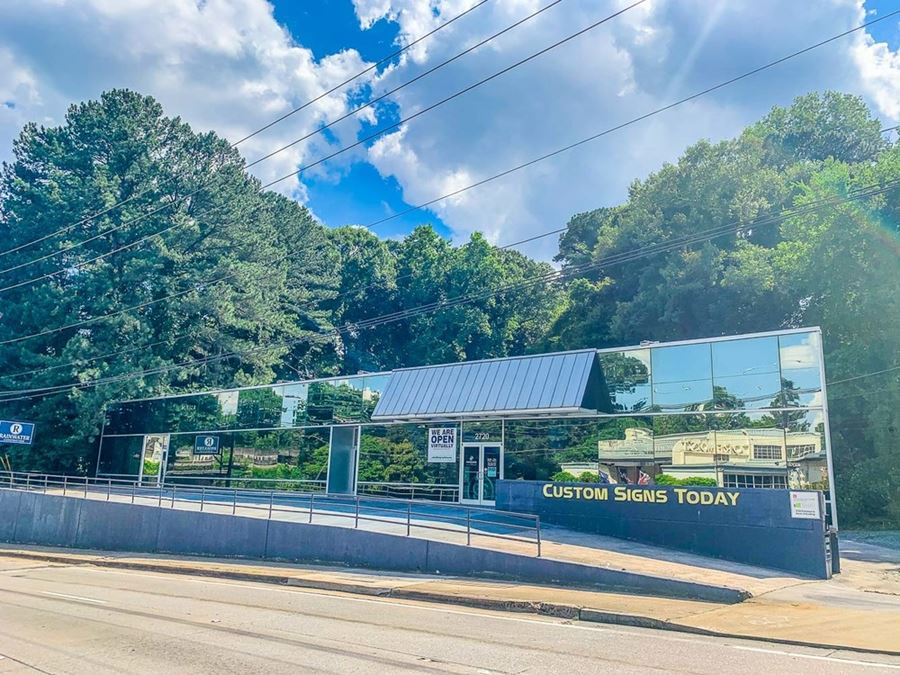 Intown Multi-Tenant Office Opportunity | South Buckhead | ± 13,230 SF | 0.91 - 1.46 Acres